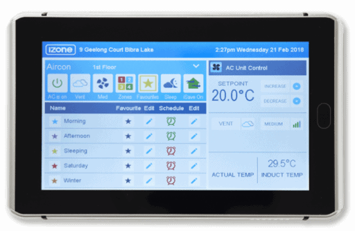 climate control tablet app