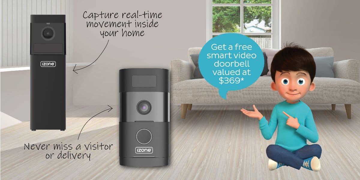 iZone Smart Video Doorbell Promotion